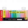 Zakreślacze Stabilo Boss, 15 kolorów (7015-01-5)