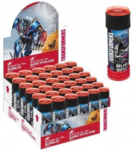 Bańki mydlane Transformers 55ml