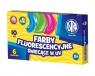 Farby fluorescencyjne Astra 6 kolorów - 10 ml (301111006)