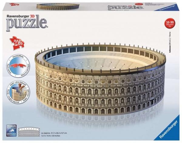 Puzzle 216 elementów 3D Koloseum (111480)