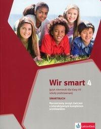 Wir Smart 4 Smartbuch Rozszerzony zeszyt ćwiczeń z interaktywnym kompletem uczniowskim klasa 7 Motta Giorgio
