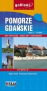 Pomorze Gdańskie. Mapa turystyczna