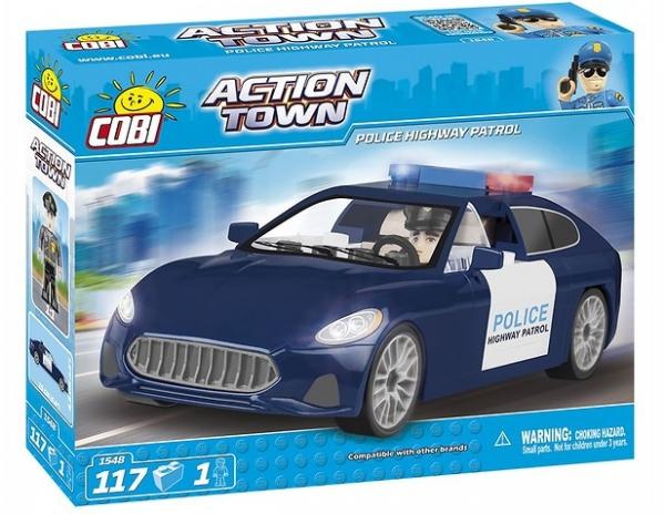 Cobi: Action Town. Patrol policyjny - 1548