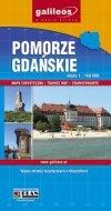 Pomorze Gdańskie. Mapa turystyczna praca zbiorowa