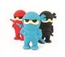 Ninja Gumki do Ścierania 3 sztuki