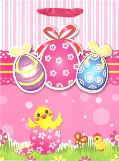 Torebka prezentowa M Wielkanoc 1333-04