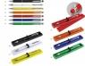 Metalowy długopis  żółty A02.3204. 10 z gumką do ekranów dotykowych w .