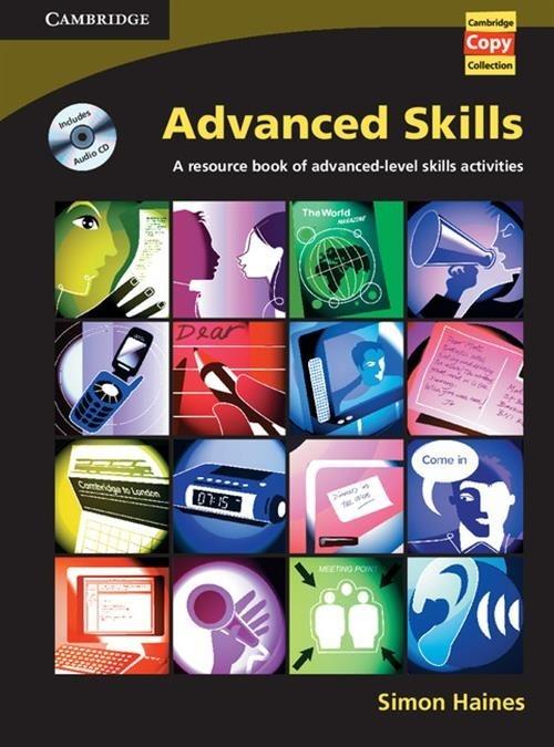Advanced Skills Book and Audio CD Haines Simon