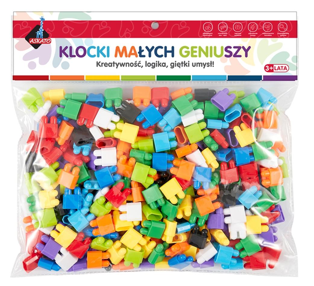 Klocki małych geniuszy - Cegiełki, 280 elementów (109480)