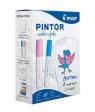 Zestaw Pintor + T-shirt różowy i niebieski PILOT