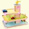 Drewniany Parking z Winda + 3 autka (MSN15048)od 3 lat