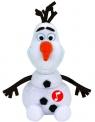 Maskotka Beanie Babies Disney: Olaf - bałwanek z dźwiękiem (41148)