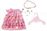 Baby Born - Letnia sukienka z przypinkami