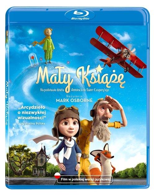 Mały Książę Blu ray/ Kino Świat Osborne Mark