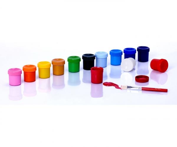 Farby plakatowe Astra 12 kolorów - 20 ml + 1 kolor gratis (301115005)