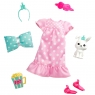 Barbie: Przygody księżniczek - Zestaw ubranko ze zwierzątkiem Wiek: 3+