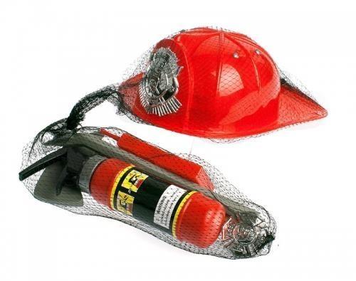 Zestaw strażacki z hełmem