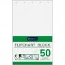 Blok do tablic flipchart Interdruk 50k. 80 g czysty 1000 mm x 640 mm (FLI50)