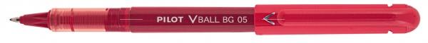 Pióro kulkowe Pilot V-Ball Begreen Czerwony (LVE-10EF-R-BG)