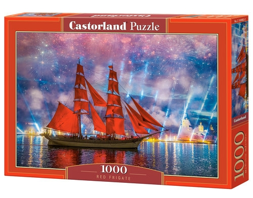 Puzzle Red Frigate 1000