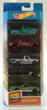 Hot Wheels: Pięciopak - Hot Trucks (01806/FYL18)