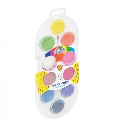 Farby wodne - 10 kolorów