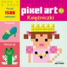 Pixel art Księżniczki Kolorowanka