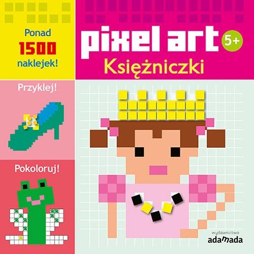 Pixel art Księżniczki Kolorowanka Opracowanie zbiorowe