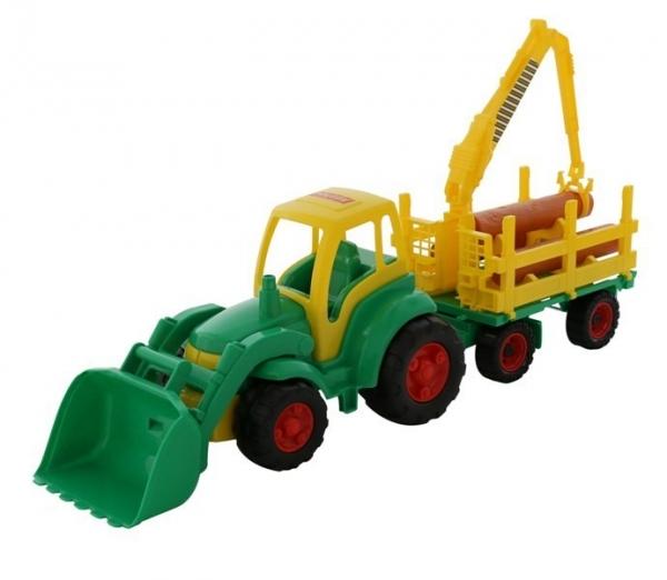Mistrz Traktor z łyżką i przyczepą (0483)