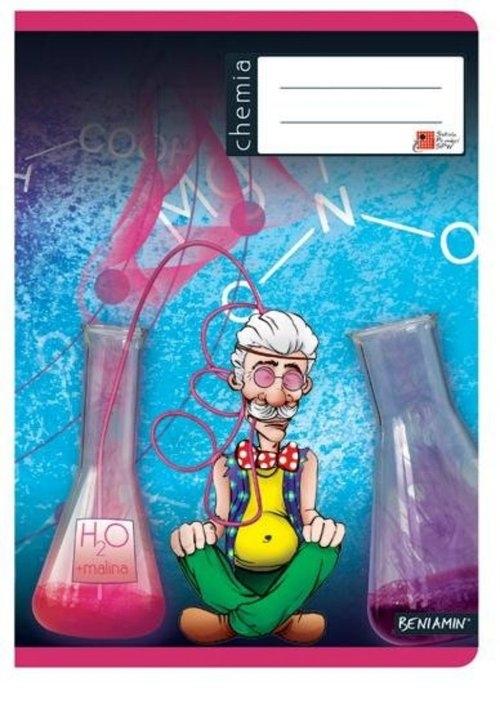 Zeszyt A5 Chemia w kratkę 60 kartek