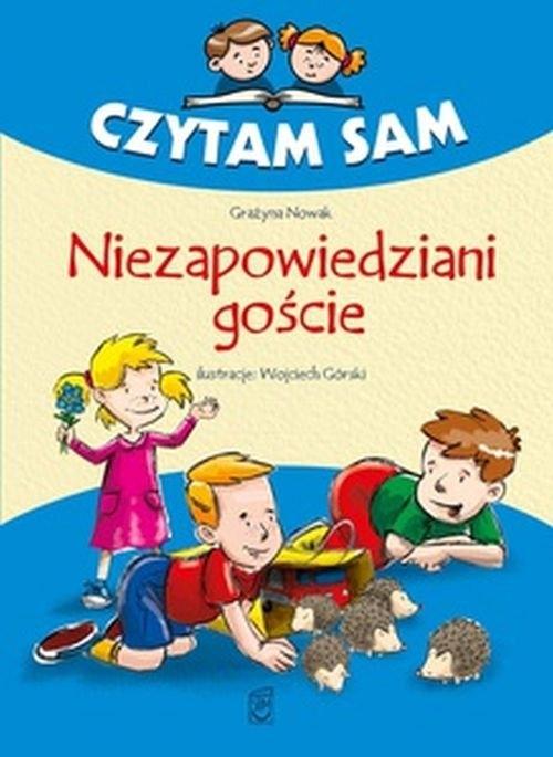 Czytam sam Niezapowiedziani goście Grażyna Nowak