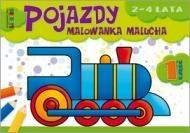 Pojazdy. Malowanka malucha 2-4 lata cz.1 praca zbiorowa
