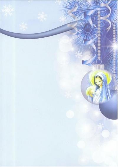 Listownik Bożonarodzeniowy pakiet (100szt) bombka