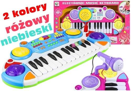 Organki Keyboard Dla Małego Muzyka 2 Kolory