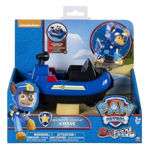 Psi Patrol Sea Patrol pojazd z figurką Chase