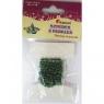 Sznurek koralików 2mm/2,5m.zielone 16199C