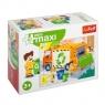 Puzzle miniMaxi 20: - Śmieciarka 2 TREFL