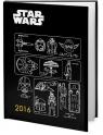 Kalendarz 2016 książkowy Star Wars