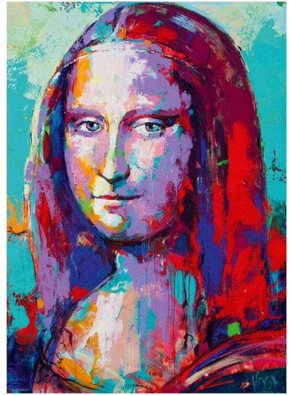 Puzzle 1000 elementów Mona Lisa, Voka (29948)