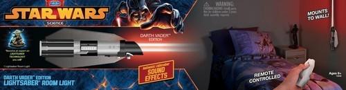Lampka Miecz świetlny Dartha Vadera