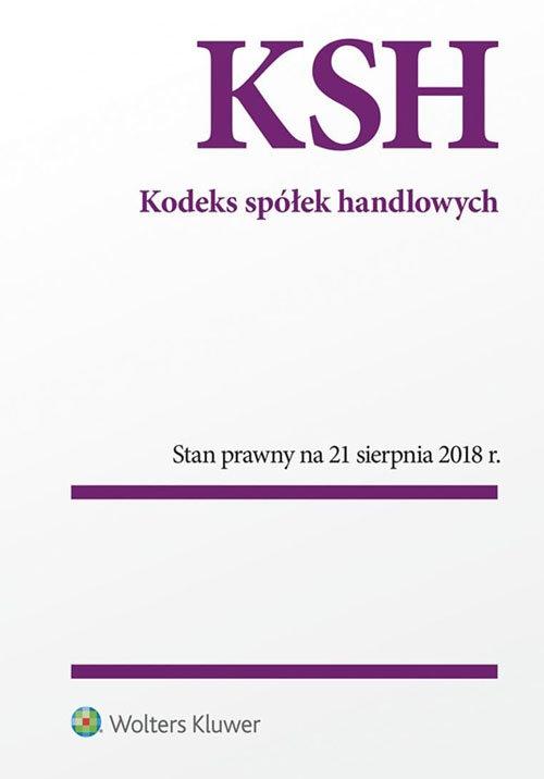 Kodeks spółek handlowych Praca zbiorowa
