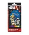 Kredki szkolne trójkątne 12 kolorów Star Wars