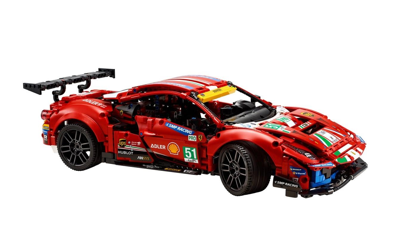 "Lego Technic: Ferrari 488 GTE ""AF Corse #51"" (42125)"