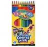Kredki akwarelowe + pędzelek Colorino Kids, 12 sztuk (33039PTR)
