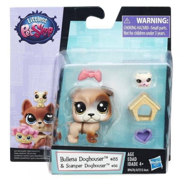 Littlest Pet Shop Zwierzak z akcesoriami, Pies (A7313/B9670)