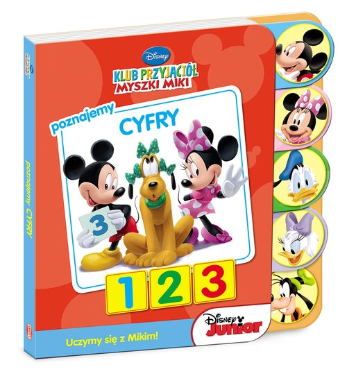 Klub Przyjaciół Myszki Miki Poznajemy cyfry