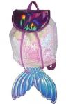 Plecak cekinowy Mermaid różowy (STN5485)