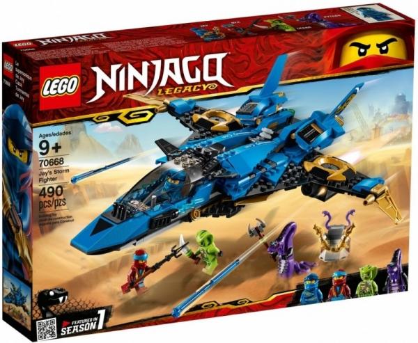 LEGO Ninjago: Burzowy myśliwiec Jaya (70668)