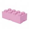 Pojemnik klocek LEGO Brick 8 - Jasnoróżowy (40041738)