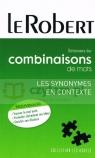 Dictionnaire poche des combinaisons mots les synonymes Dominique Le Fur, Yaël Freund, Edouard Trouillez